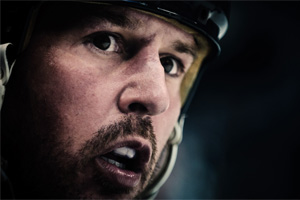 Mike Modano Dallas Stars Game Face