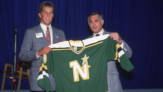 Mike Modano Draft Pick Jack Barzee