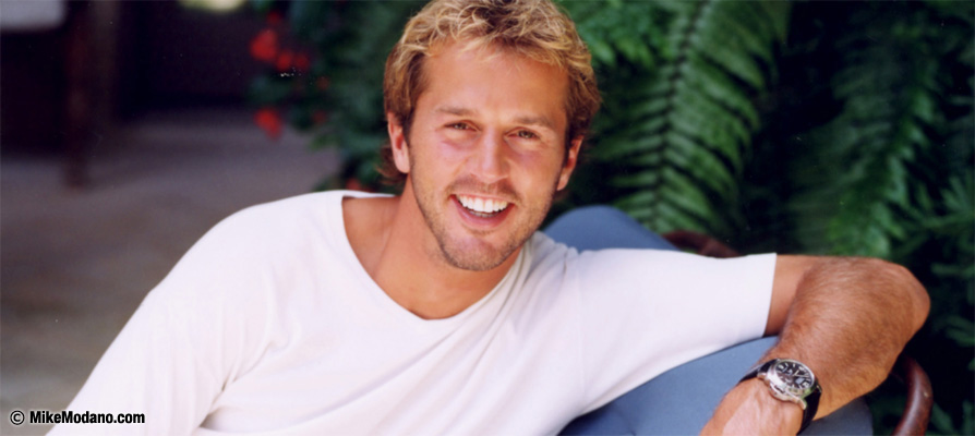 Mike Modano Relaxing off the ice