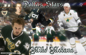 Modano 9 Hockey Wallpaper