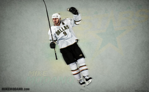 NHL Mike Modano Stars Wallpaper
