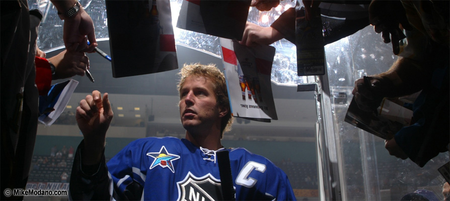 Mike Modano NHL All-Star Captain