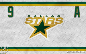 Dallas Stars 9 Mike Modano Hockey Jersey Wallpaper