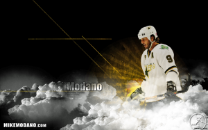 Legendary Mike Modano 9 NHL Hockey Wallpaper