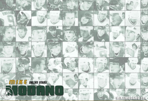 Mike Modano Collage NHL Hockey Stars Wallpaper
