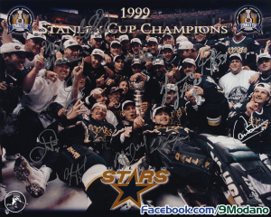 Mike Modano Stanley Cup Champions Dallas Stars Wallpaper