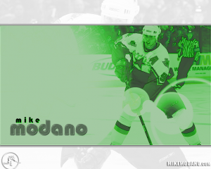Mike Modano Widescreen NHL Dallas Stars Wallpaper