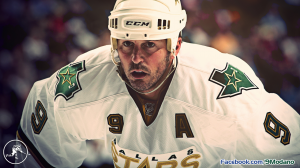 Modano 9 Dallas Stars NHL Hockey Wallpaper