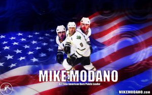 USA Hockey Mike Modano NHL Wallpaper