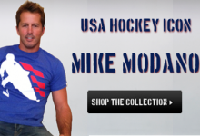 Mike Modano USA Hockey Icon
